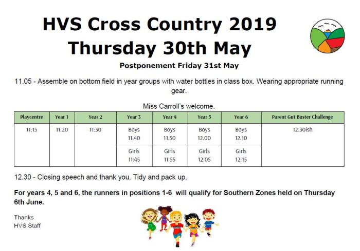 HVS Cross Country t2 2019